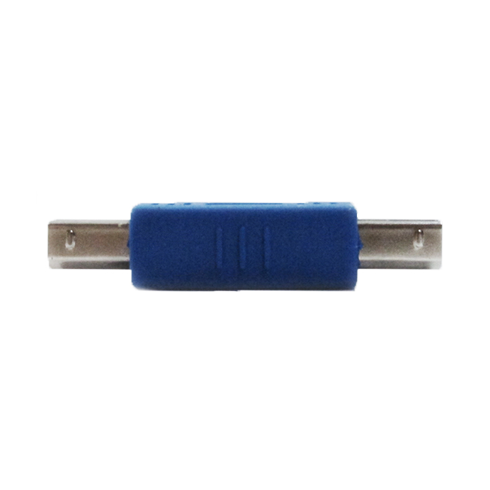 Adaptador Usb-b Macho X Usb-b Macho Azul