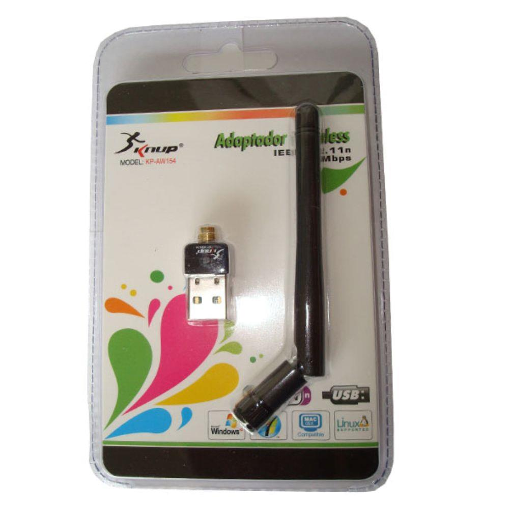 Adaptador Usb Wireless 150mbps Kp-aw154 Knup