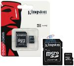 Cartao De Mem. Micro Sd 8gb Kingston C/ Adap