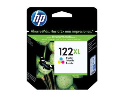 Cartucho De Tinta Hp 122xl Color  (ch564hb)