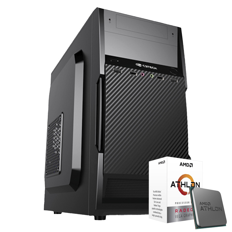 Computador Kit Work/home Amd Am4 Athlon 3000g 8gb Hd 1000gb