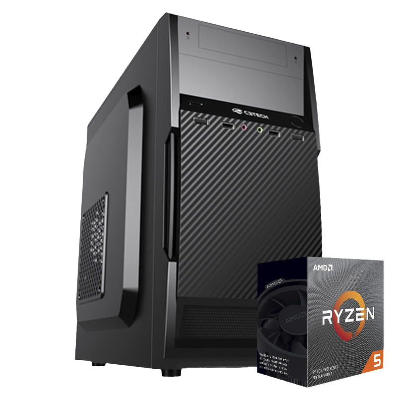 Computador Kit Work/home Amd Am4 Ryzen 5 3600 8gb Ddr4 Ssd 240gb