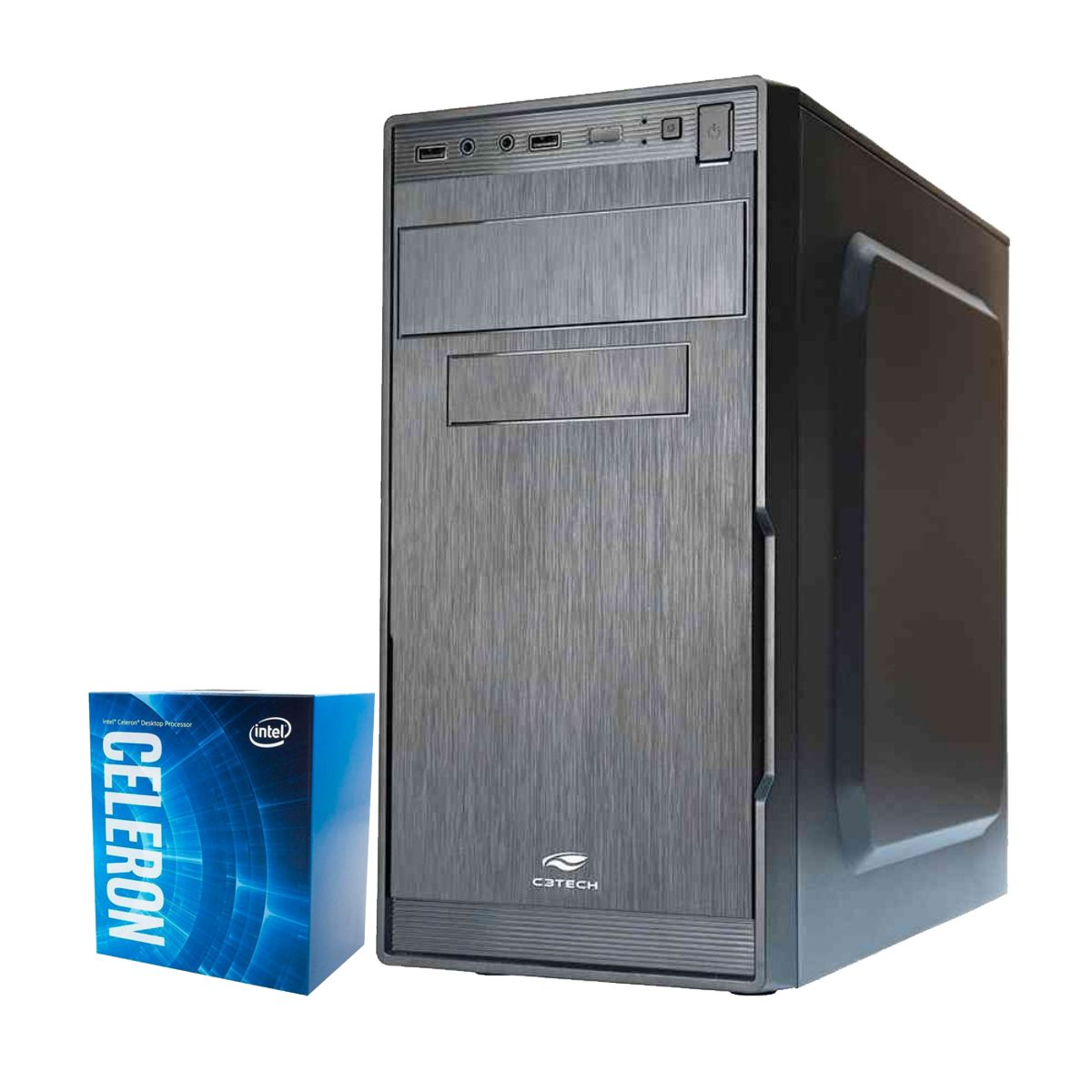 Computador Kit Work/home Intel Celeron G4930 4gb Ddr4 Hd 320gb