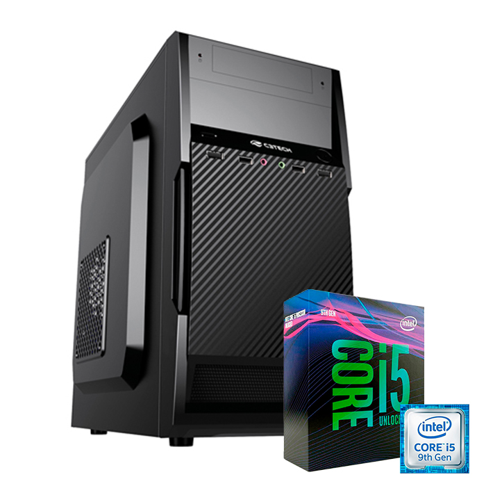 Computador Kit Work/home Intel I5 9400f 4gb Ddr4 Ssd 120gb