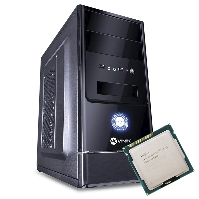 Computador Kit Work/home Intel Pentium G2130 4gb Hd 4000gb