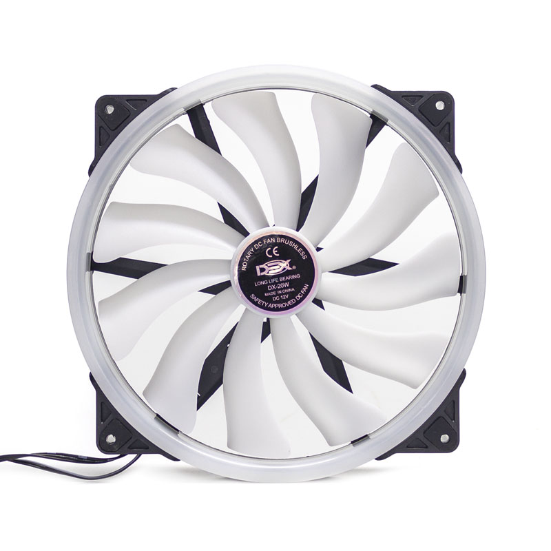 Cooler 200mm Com Led Rgb Dx-20w
