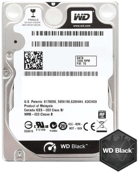 Hd Nb Sataii 250gb 2.5 Western Digital Wd2500lpvx Spare