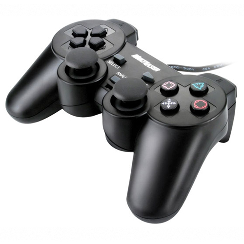 Joystick Play Station 2 Ps2  Multilaser Js043 Preto