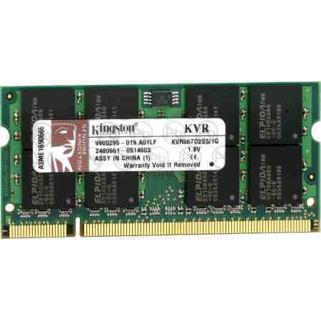 Memoria Ddr2 2gb 800mhz Notebook Nb Kingston