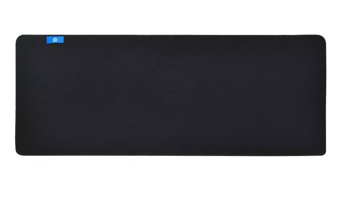 Mouse Pad Gamer Emborrachado Black Extra Grande Mp9040 Hp