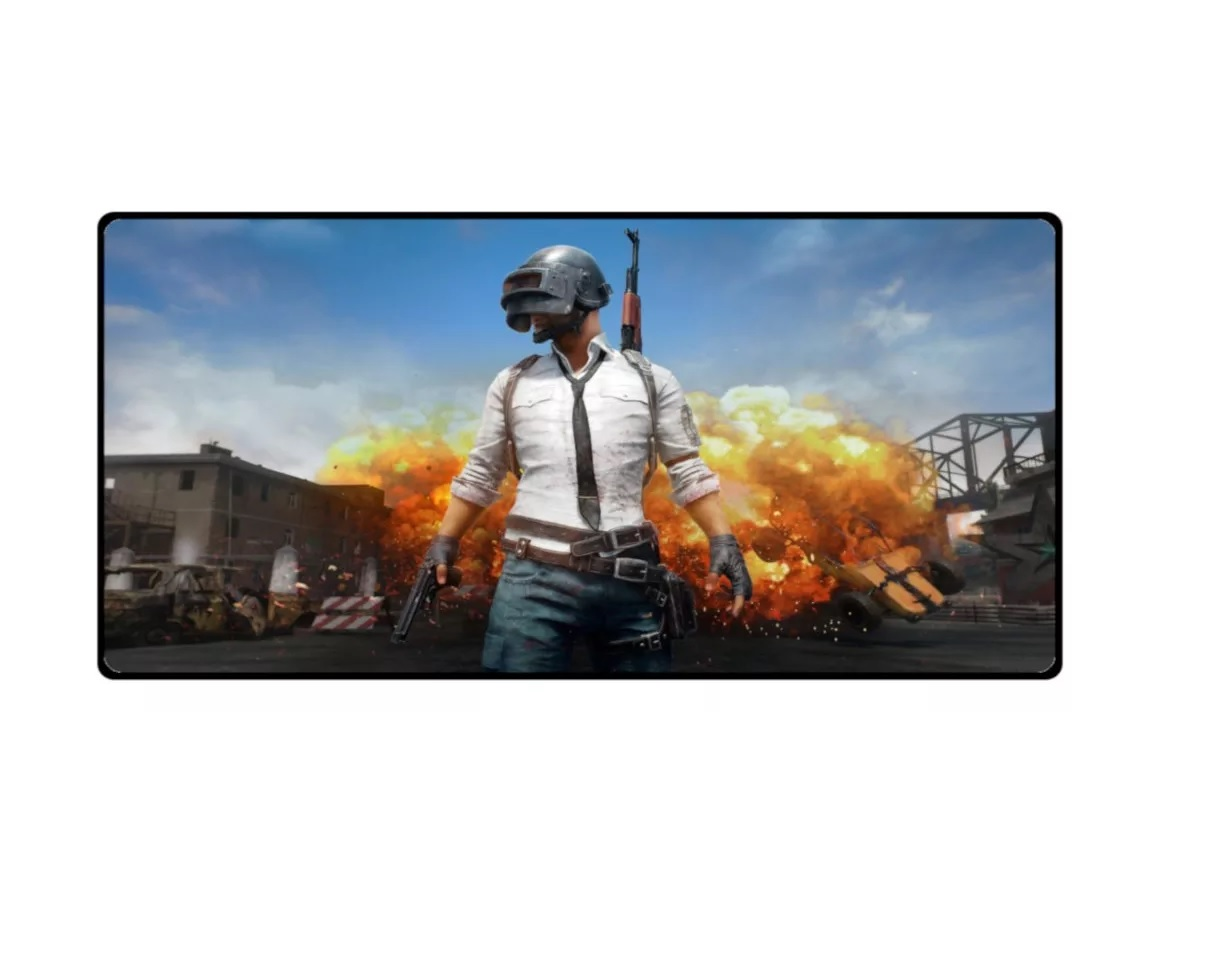 Mouse Pad Gamer Extra Grande (battlegrounds) Mp-9040a11 Exbom