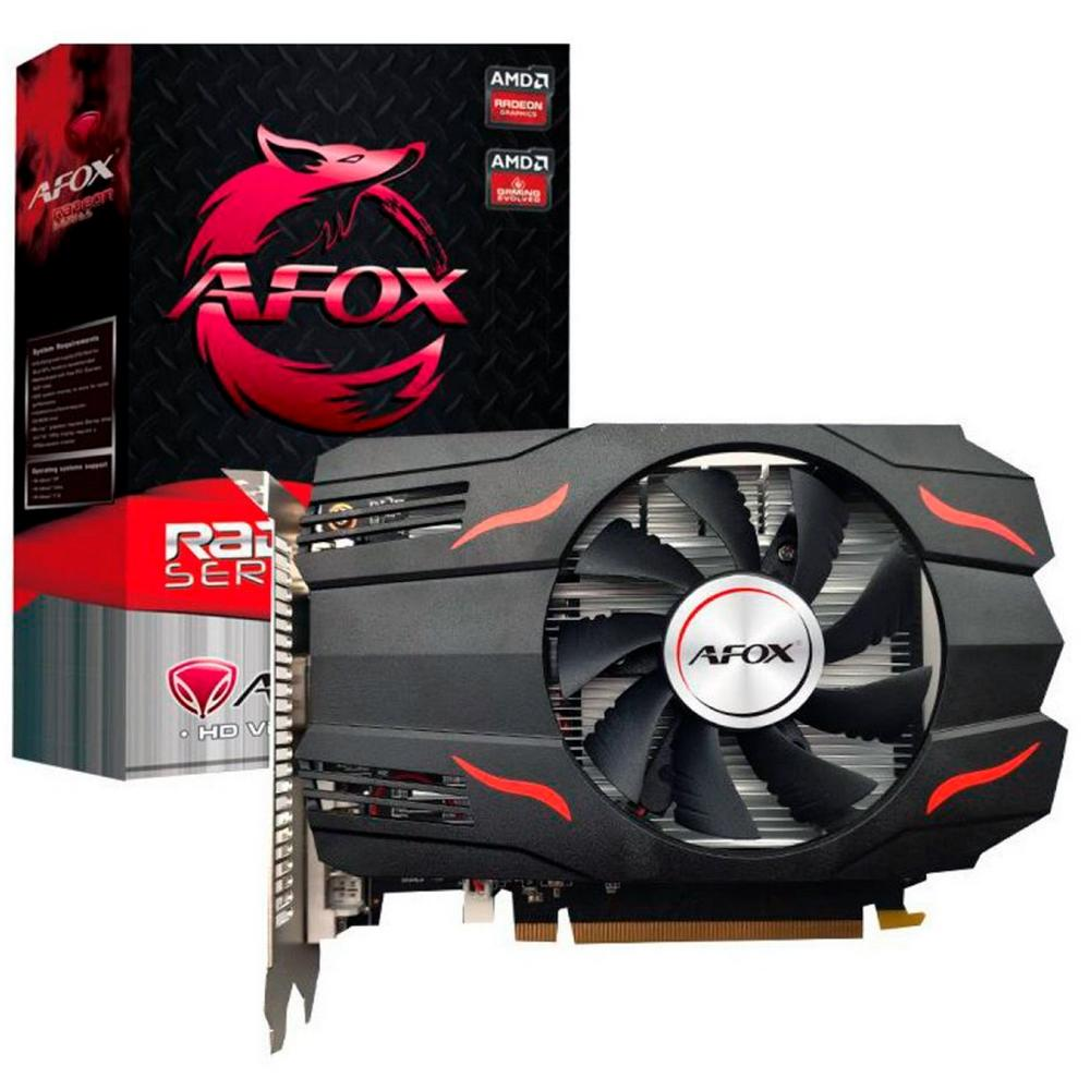 Placa De Video Rx 550 4gb Ddr5 128 Bits Afrx550-4096d5h3 Afox