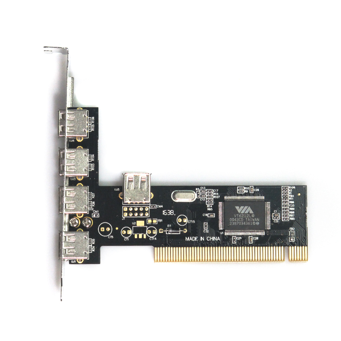 Placa Pci Com 5 Portas Usb 2.0 Dp-52