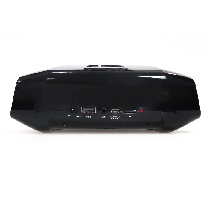 Radio Mesa Bluetooth/p2/usb K-810 Preto